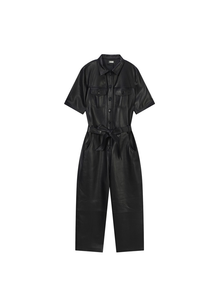 UTZON _ Brooklyn Jumpsuit Heavy Lamb Skin