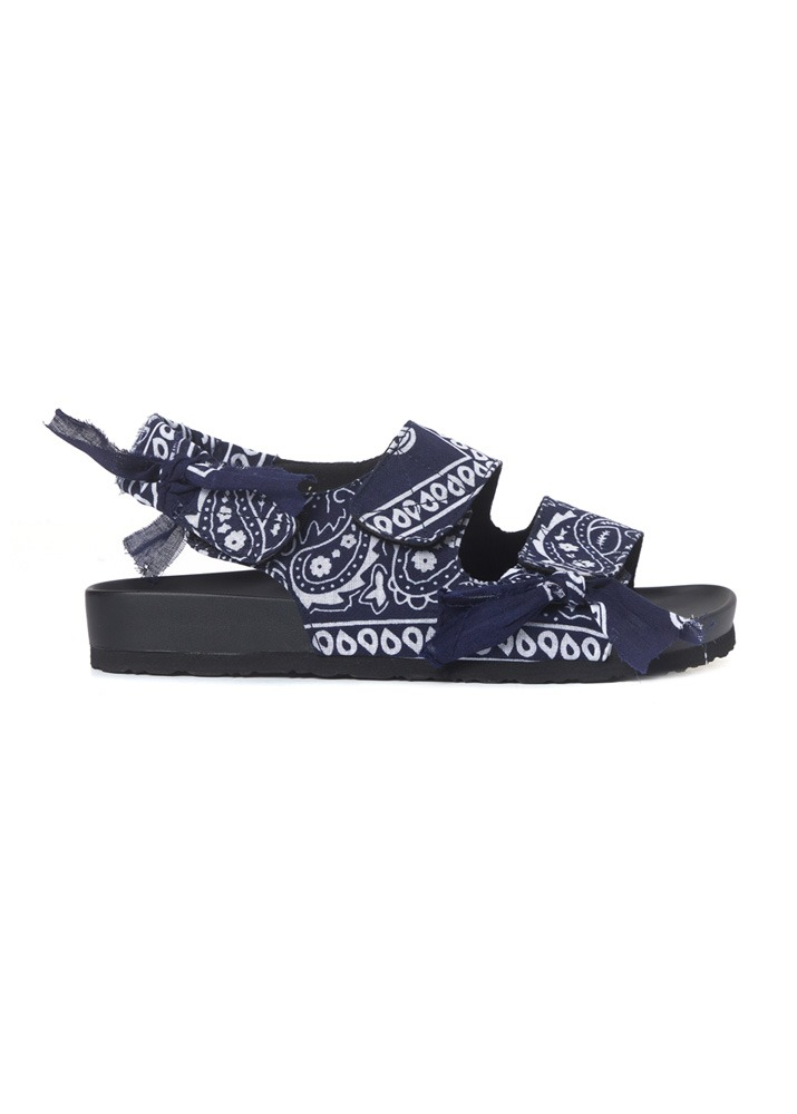 ARIZONA LOVE _ Apache Navy Bandana Low Heel