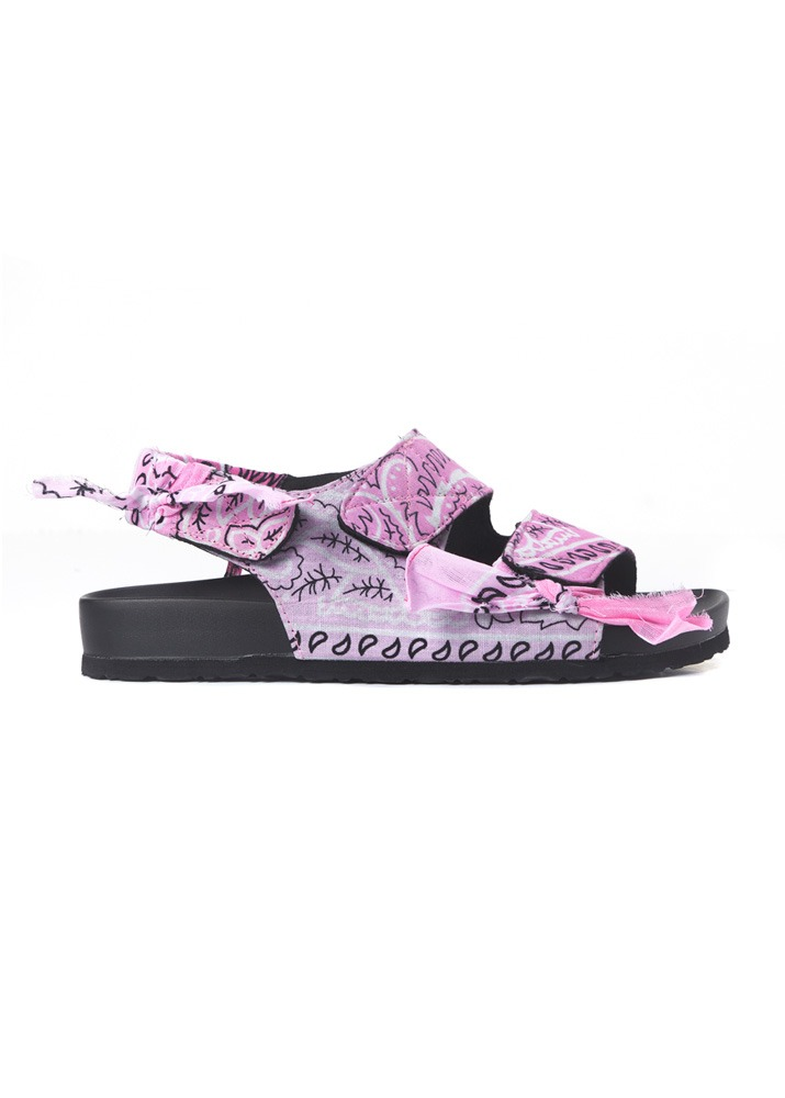 ARIZONA LOVE _ Apache Pink Bandana Low Heel